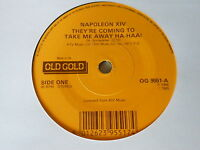 """OLD GOLD 7"""" vinyl record NAPOLEON XIV they're coming to take me away ha haa"""