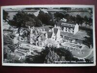 POSTCARD RP ISLE OF WIGHT SANDOWN - BROADWAY PARK HOTEL - 1960'S AERIAL VIEW