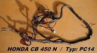 Honda CB 450 N_PC14_Kabelbaum_Kabelstrang_wire harness_Elektrik_Kabel_CB450N