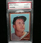 1962 Topps Mickey Mantle #200 PSA 6 New York Yankees Nice Card