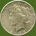 "1925 United States Silver ""Peace"" Dollar (26.73 Grams .900 Silver)"