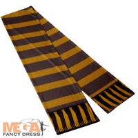 Hufflepuff Scarf Kids Fancy Dress Harry Potter Book Day Childs Costume Accessory