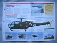 Aircraft of the World - Aerospatiale Alouette III