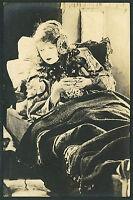 RP Lillian Gish Beautiful Flapper Woman in Acting Scene   P828