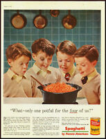 1953 vintage ad for Franco-American Spaghetti  -020712