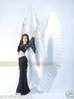 Brand New Belly Dance Costume Accessory Isis Wings Without Sticks 8 Colors