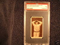 1912 T207 Brown Background Rube Marquard PSA 3