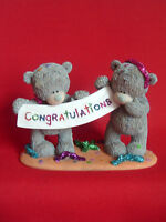 Me To You ' Congratulations' Bear Figurine - In original Box