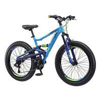 Boy's 24 inch Mongoose Masher FS Bike