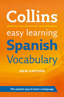 Easy Learning Spanish Vocabulary by Collins Dictionaries (Paperback, 2012)