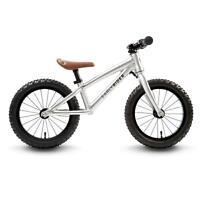 """Early Rider Trail Runner Laufrad Kinder Alu 14"""" Fahrrad Aluminium silber 2 - 4 J"""