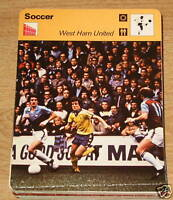 Soccer/Football West Ham United SC Collector card