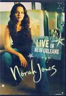 DVD ZONE 2--CONCERT LIVE--NORAH JONES--LIVE IN NEW ORLEANS 2002