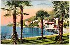 Abbazia - viaggiata per l'Austria nel 1931 con francobolli Italiani