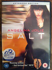 ANGELINA JOLIE SALT 2010 Espionage Action Thriller estesa EDIZIONE UK DVD