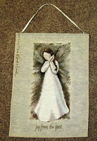 Willow Tree Classic ~ Angel of Joy Tapestry Bannerette Wall Hanging