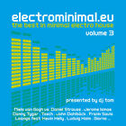 CD Electro Minimal.EU Volume 3 de Various Artists 2CDs