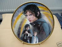 """WEDGWOOD LORD OF THE RINGS FRODO  8"""" PLATE"""