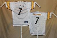 BEN ROETHLISBERGER  Pittsburgh Steelers   REEBOK Equip  JERSEY  Youth XL   NwT w