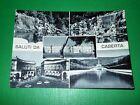 Cartolina Saluti da Caserta - Vedute diverse 1967