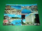 Cartolina Saluti da Alghero - Vedute diverse 1977