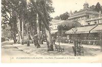 CPA CARTE POSTALE - 88 PLOMBIERES LES BAINS PETITE PROMENADE CASINO 1910 1920 ?