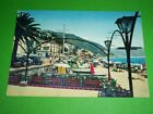 Cartolina Laigueglia - La spiaggia 1965 ca
