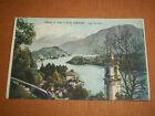 Cartolina Lago di Como - Chiesa di Sala e Isola Comacina 1930 ca