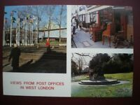 POSTCARD RP ROYAL MAIL VIEWS FROM POST OFFICES IN LONDON