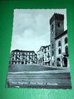 Cartolina Nizza Monferrato - Piazza Martiri di Alessandria 1954 ca