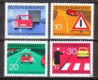 BRD 1971 Mi. Nr. 670-673 Postfrisch LUXUS!