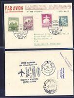 45090) SABENA FF Brüssel - Elisabethville Congo 19.1.60, ab Dänemark R!