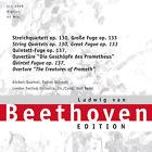 CD Ludwig Van Beethoven Tardive Quatuors à cordes