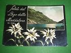 Cartolina Lago della Maddalena ( Cuneo ) - Scorcio panoramico 1955 ca
