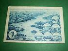 Cartolina Ricordo del Lago Maggiore - Vedute diverse 1930 ca