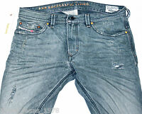 BNWT DIESEL THAVAR 886B JEANS 34X30 SS12 100% AUTHENTIC SKINNY FIT TAPERED 0886B
