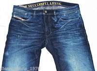 BNWT DIESEL SHIONER 880W JEANS 31X34 100% AUTHENTIC SKINNY FIT TAPERED LEG