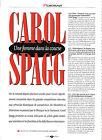 CAROL SPAGG / 1993 ARTICLE PRESSE INTERVIEW REPORTAGE COUPURE MAGAZINE