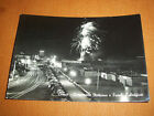 Cartolina Cervia - Lungomare Notturno e Fuochi d' Artificio 1965