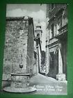 Cartolina S. Quirico D' Orcia ( Siena ) - Collegiata e Palazzo Chigi 1955 ca