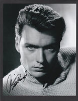 """Clint Eastwood Signed Glossy 8""""x 10."""" Photo Movie Actor"""
