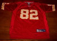 KANSAS CITY CHIEFS #82 NFL FOOTBALL JERSEY YOUTH LARGE