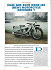 NEW MOTORCYCLE / 1993 ARTICLE PRESSE REPORTAGE COUPURE MAGAZINE