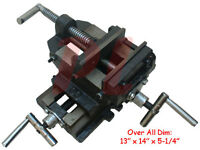 """4"""" Jaw 2-WAY X-Y CROSS VISE Mill Milling Drill Drilling Machine Clamp Holder"""