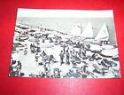 Cartolina Porto San Giorgio - La spiaggia 1961