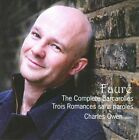 Faure: The Complete Barcarolles, Trois Romances Sans Paroles, CD | 082225222402