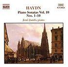 Haydn: Piano Sonatas 1, 2, 3, 4, 5, 6, 7, 8, 9, 10, CD | 0730099482424 | New