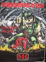 SOD S.OD. STORMTROOPERS OF DEATH BANDERA FLAG 101