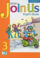 Join Us 3 Pupil's Book: Level 3 (Join in) by Puchta, Herbert, Gerngross, Gunter