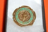 GENERAL NURSING COUNCIL FOR ENGLAND & WALES BADGE M.K. COLE BOXED
